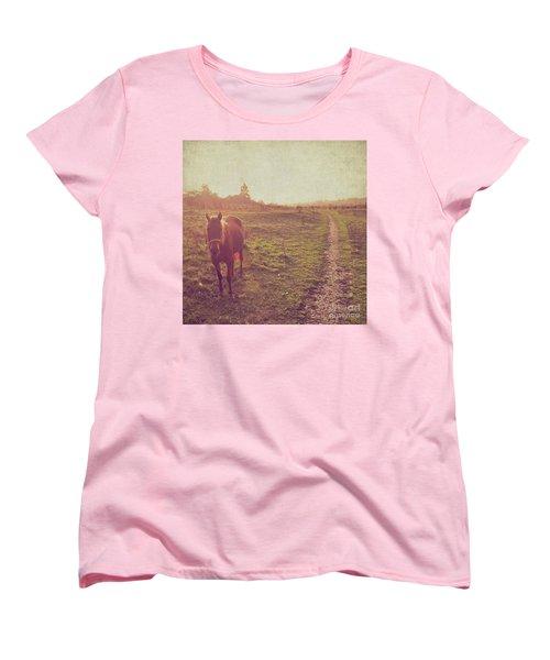 Horse Women's T-Shirt (Standard Cut) by Lyn Randle