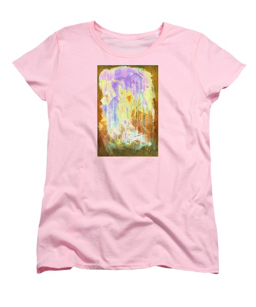 Women's T-Shirt (Standard Cut) featuring the digital art Hugging Canvas by Andrea Barbieri