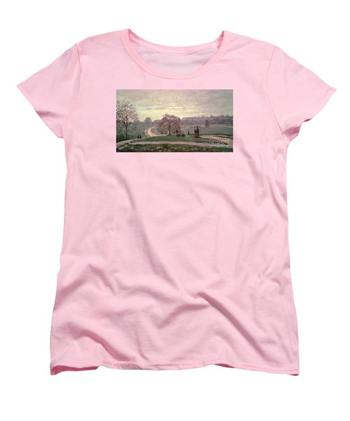 Hyde Park Women's T-Shirt (Standard Cut) by Claude Monet