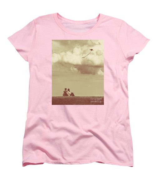 I Had A Dream I Could Fly From The Highest Swing Women's T-Shirt (Standard Cut) by Dana DiPasquale