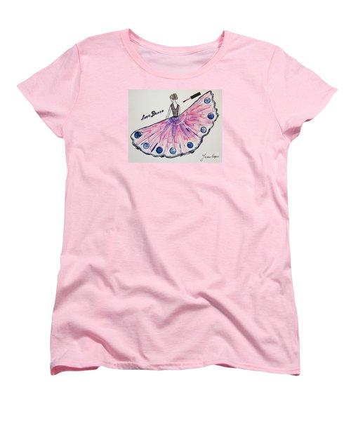 I Love To Dance Women's T-Shirt (Standard Cut)