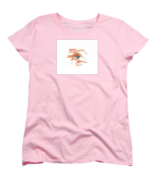 Women's T-Shirt (Standard Cut) featuring the drawing I O'thy Self by James Lanigan Thompson MFA