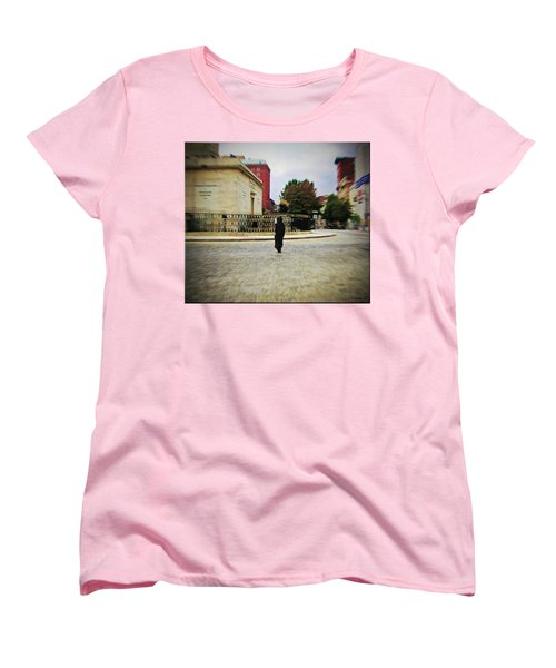 Women's T-Shirt (Standard Cut) featuring the photograph I Walk Alone by Brian Wallace