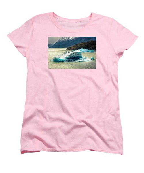 Women's T-Shirt (Standard Cut) featuring the photograph Iceberg by Andrew Matwijec