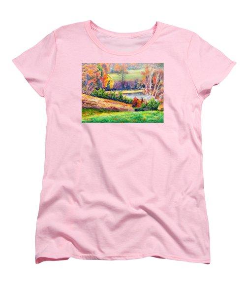 Illuminating Colors Of Fall Women's T-Shirt (Standard Cut)