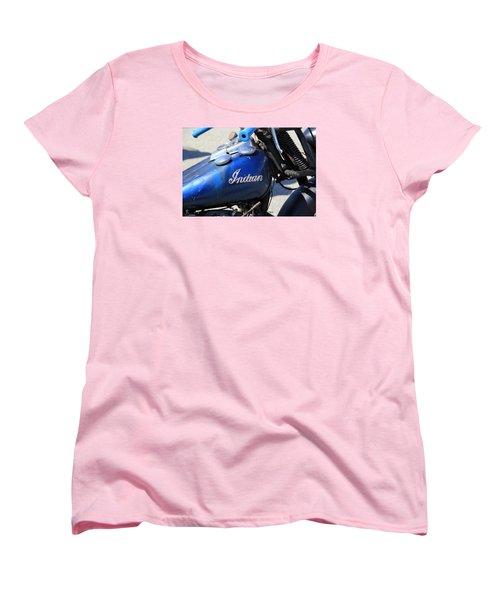 Indian Blue Women's T-Shirt (Standard Cut)