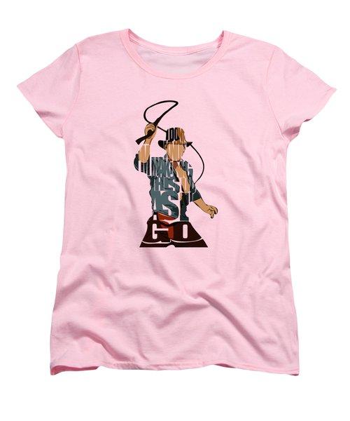 Indiana Jones - Harrison Ford Women's T-Shirt (Standard Fit)