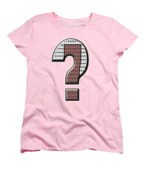 Interrobang 7 Women's T-Shirt (Standard Cut) by Brian Wallace