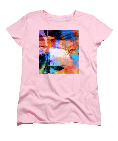 Women's T-Shirt (Standard Cut) featuring the painting Into The Open by Dan Sproul