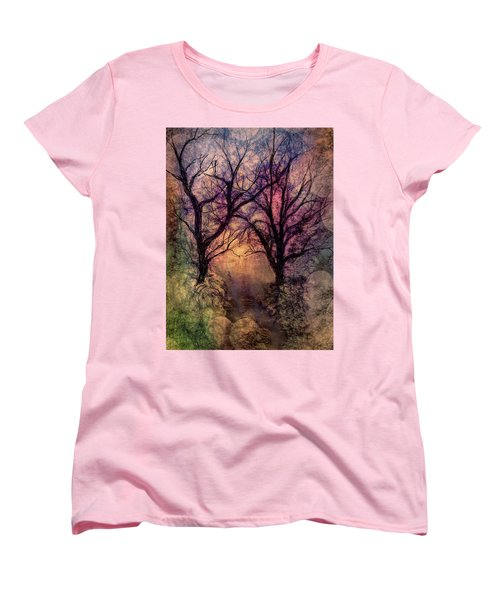 Into The Woods Women's T-Shirt (Standard Cut) by Annette Berglund