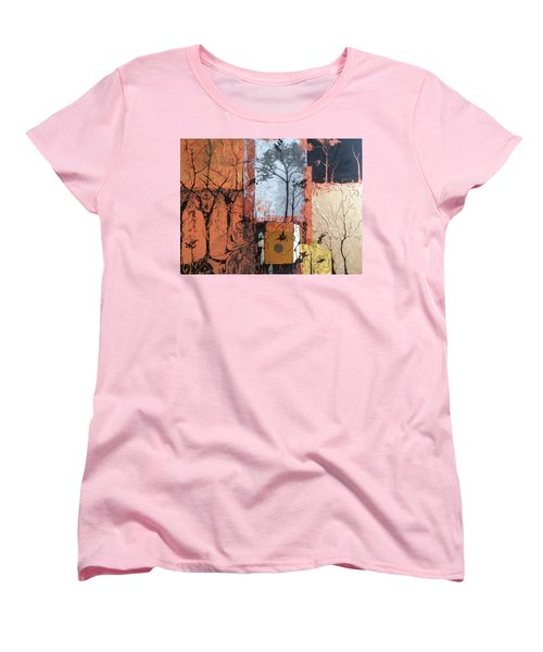 Into The Woods Women's T-Shirt (Standard Cut) by Pat Purdy