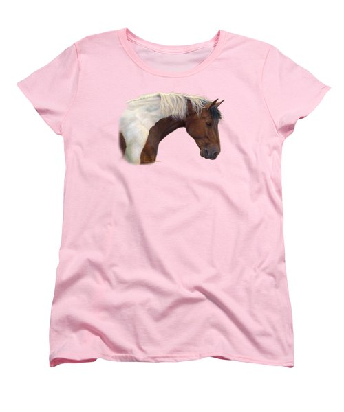 Intrigued Women's T-Shirt (Standard Cut) by Lucie Bilodeau