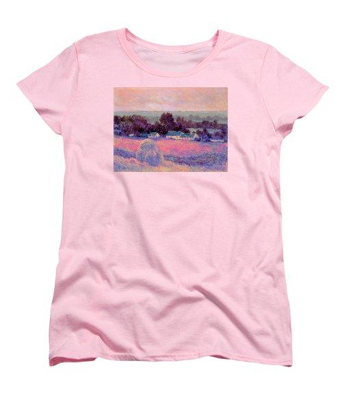 Inv Blend 10 Monet Women's T-Shirt (Standard Cut) by David Bridburg