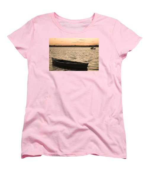 Women's T-Shirt (Standard Cut) featuring the photograph Irish Dusk by Ian Middleton