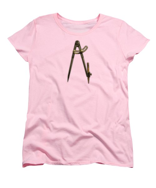 Iron Compass Women's T-Shirt (Standard Cut) by YoPedro