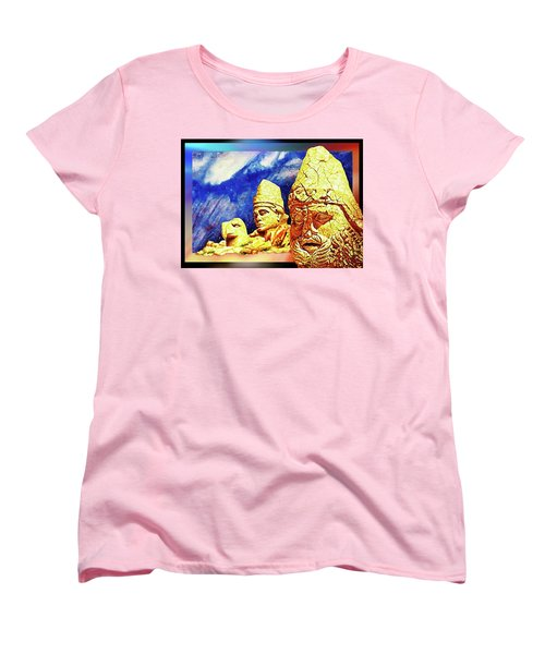 Women's T-Shirt (Standard Cut) featuring the painting Irreplaceable   Ancient  Glory by Hartmut Jager