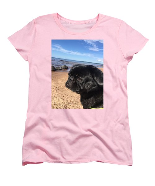 Is This My Good Side? Women's T-Shirt (Standard Cut) by Paula Brown