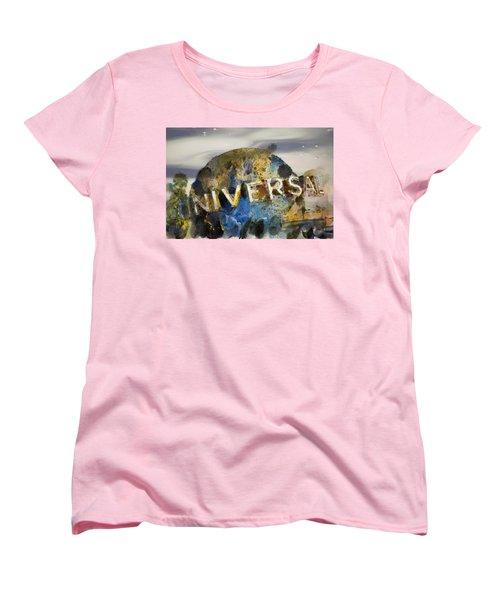 It's A Universal Kind Of Day Women's T-Shirt (Standard Cut) by Trish Tritz