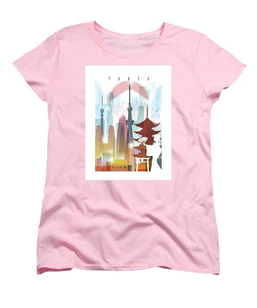 Japan Tokyo 2 Women's T-Shirt (Standard Cut)