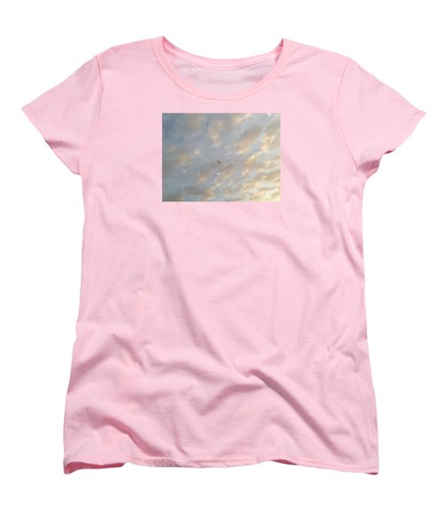 Jonathan Livingston Seagull Women's T-Shirt (Standard Cut) by LeeAnn Kendall