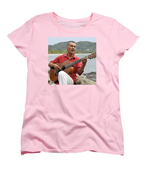 Women's T-Shirt (Standard Cut) featuring the photograph Jose Luis Cobo by Jim Walls PhotoArtist