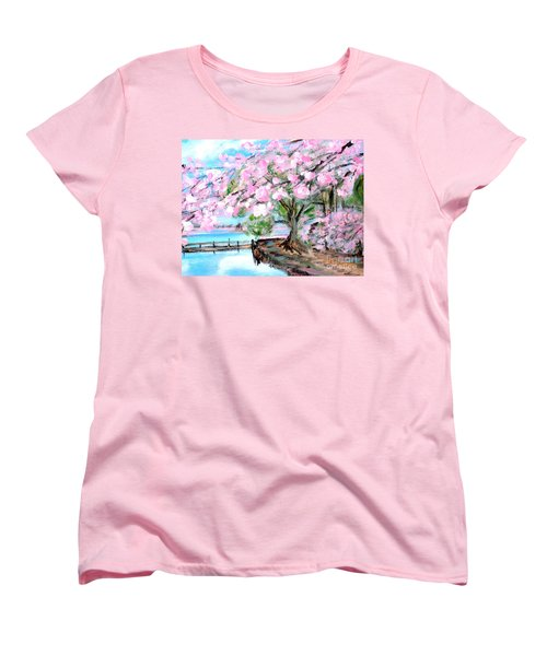 Joy Of Spring. For Sale Art Prints And Cards Women's T-Shirt (Standard Cut)