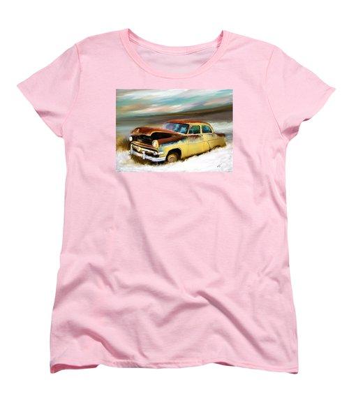 Just Needs A Paint Job Women's T-Shirt (Standard Cut) by Susan Kinney