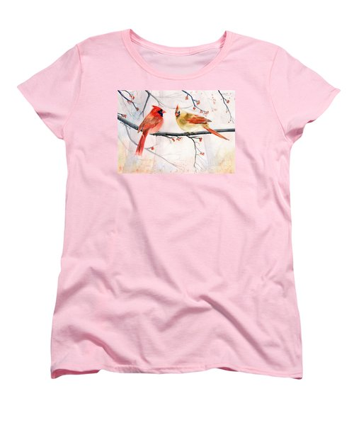Just The Two Of Us Women's T-Shirt (Standard Cut) by Melly Terpening