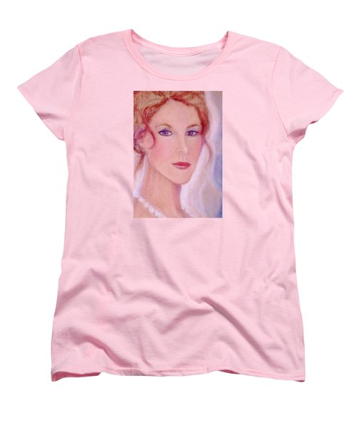 Women's T-Shirt (Standard Cut) featuring the drawing Kate by Denise Fulmer