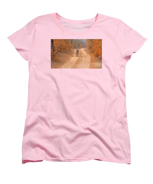 Keep Walking Women's T-Shirt (Standard Cut) by Pravine Chester