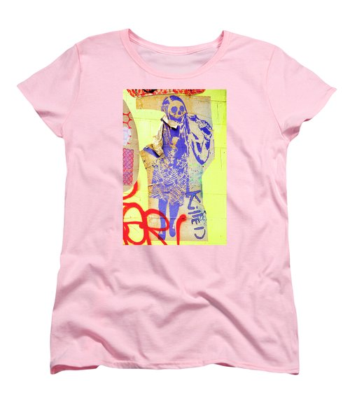 Women's T-Shirt (Standard Cut) featuring the photograph Killed by Art Block Collections