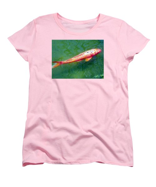Koi Fish Women's T-Shirt (Standard Cut) by Joseph Frank Baraba