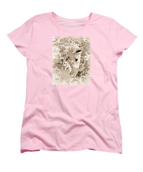 Lacey Women's T-Shirt (Standard Cut) by Lila Fisher-Wenzel