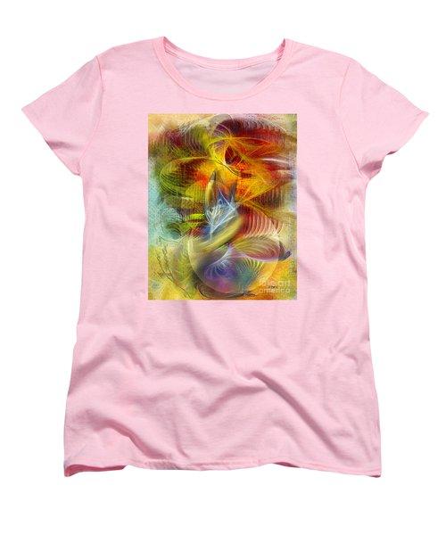 Lady And Her Shells Women's T-Shirt (Standard Cut) by John Robert Beck