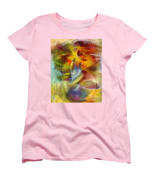 Lady And Her Shells Women's T-Shirt (Standard Cut)