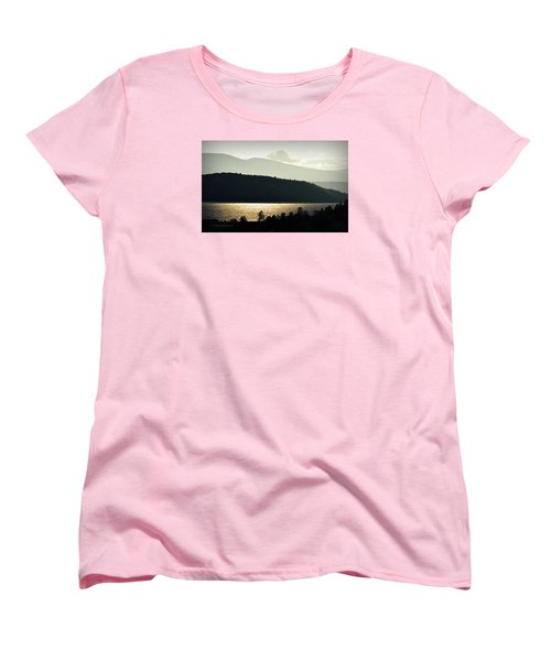 Lake Glimmer Women's T-Shirt (Standard Cut) by AJ  Schibig