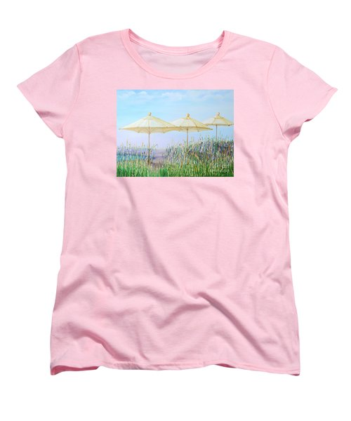 Lazy Days Of Summer Women's T-Shirt (Standard Cut) by Barbara Anna Knauf