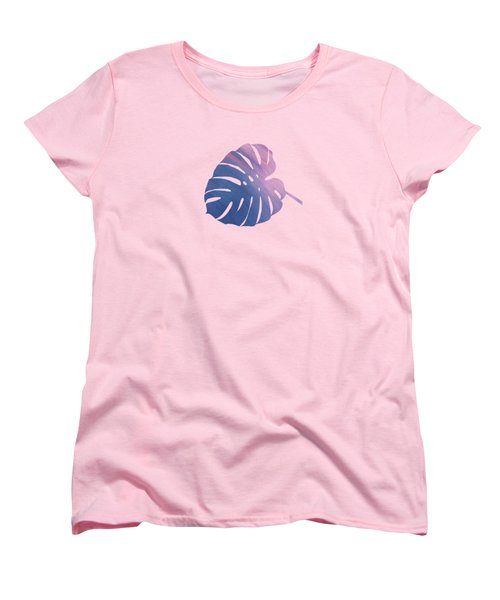 Leaf Abstract 1 Women's T-Shirt (Standard Cut) by Art Spectrum