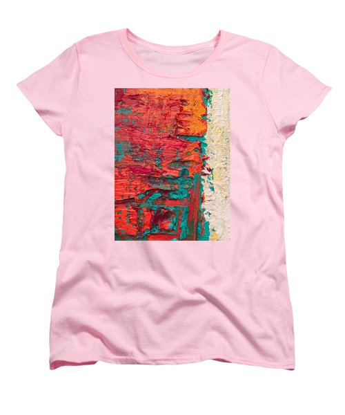Learning Curve One Women's T-Shirt (Standard Cut) by Heather Roddy