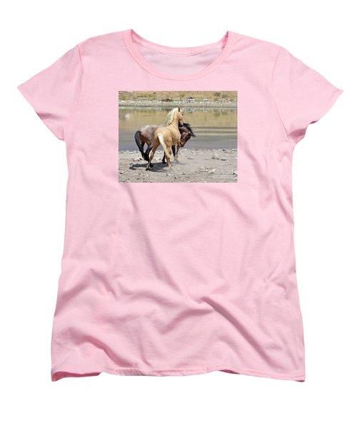 Learning To Fight Women's T-Shirt (Standard Cut) by Lula Adams