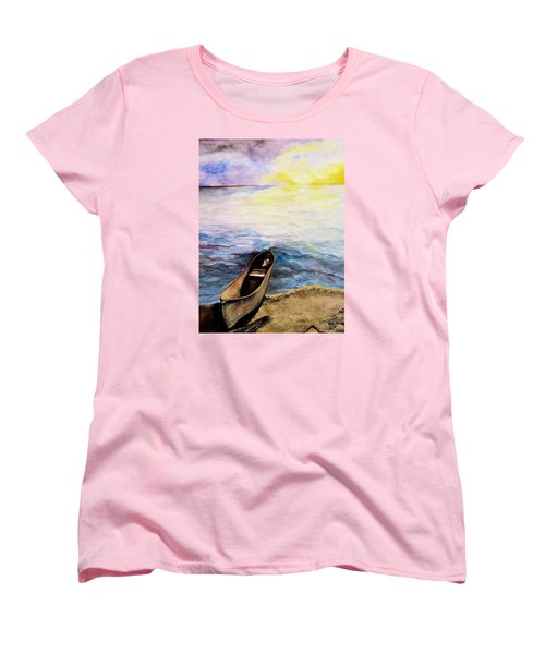 Left Alone Women's T-Shirt (Standard Cut) by Lil Taylor