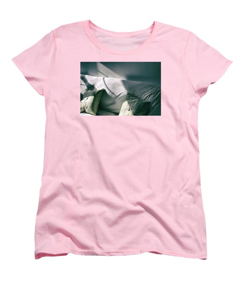 Women's T-Shirt (Standard Cut) featuring the photograph Leftover Light by Steven Huszar