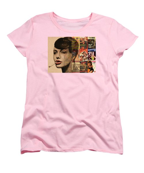 Les Pulps Francaises Women's T-Shirt (Standard Cut) by Udo Linke