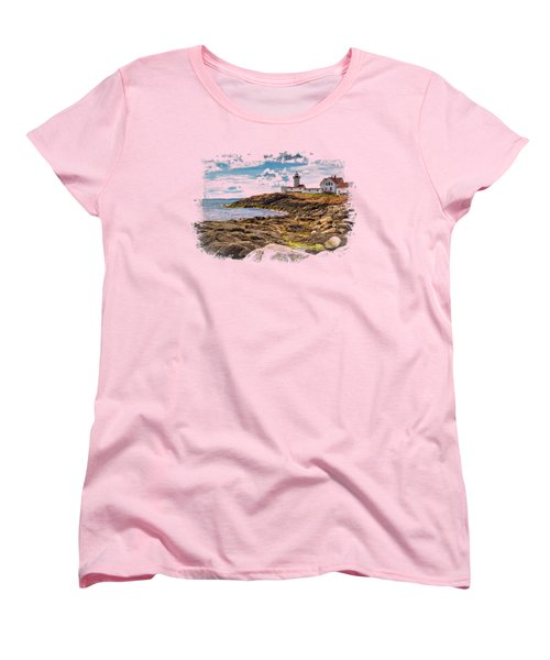 Light On The Sea Women's T-Shirt (Standard Cut) by John M Bailey