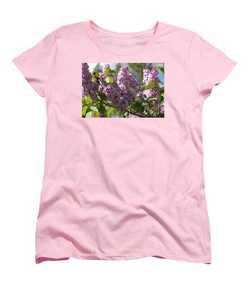 Women's T-Shirt (Standard Cut) featuring the photograph Lilacs 5548 by Antonio Romero