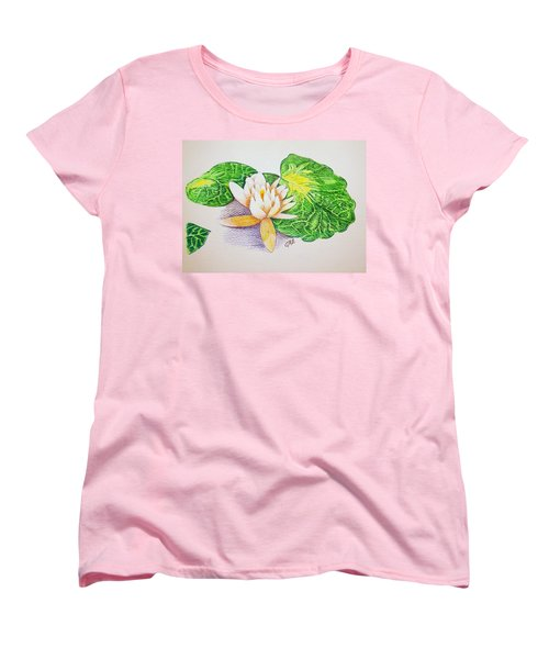 Lily Pad Women's T-Shirt (Standard Cut) by J R Seymour
