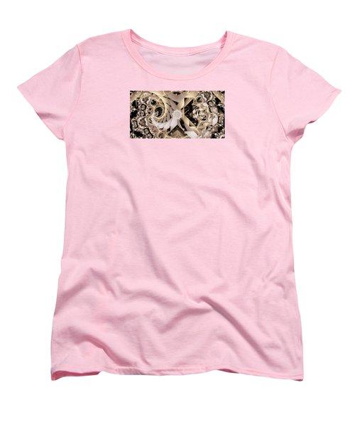 Linen And Silk Women's T-Shirt (Standard Cut) by Ron Bissett