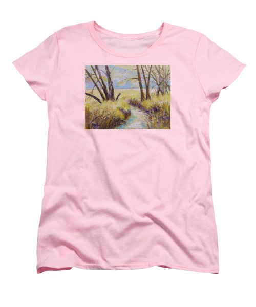 Little Creek Women's T-Shirt (Standard Cut) by William Reed