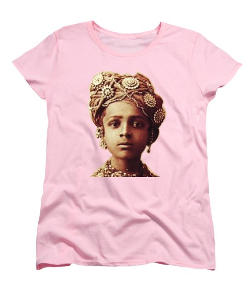 Little Prince Women's T-Shirt (Standard Cut) by Asok Mukhopadhyay