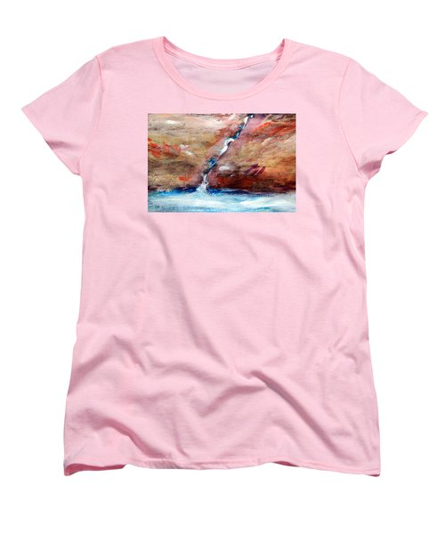 Living Water Women's T-Shirt (Standard Cut) by Winsome Gunning